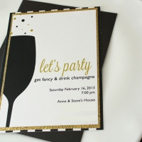 inspiring celebrations {champagne party}