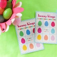 bunny bingo {printable}