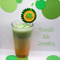 mix it up {emerald isle smoothie}