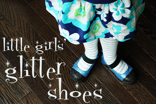 little-girls-glitter-shoes