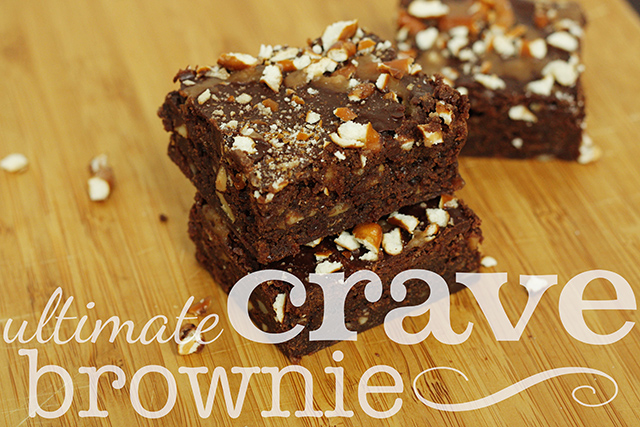 the ultimate crave brownie