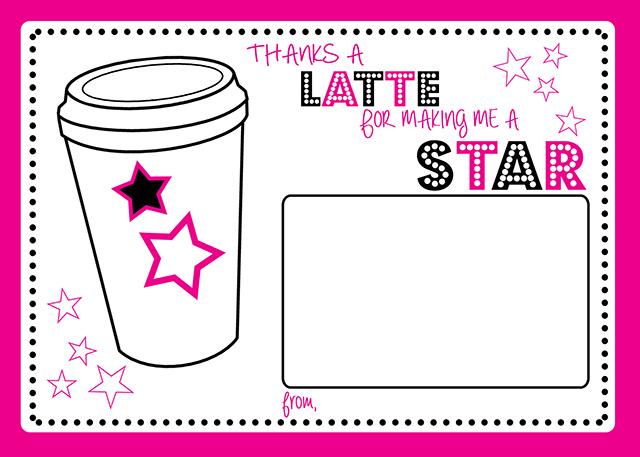 Latte-Card