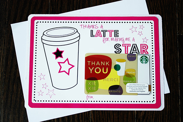 photograph about Thanks a Latte Printable named because of a latte printable Circus Berry