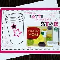 thanks a latte {printable}