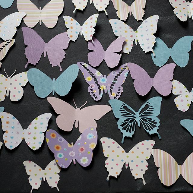 die-cut-butterflies