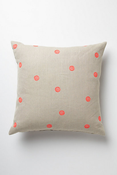 dot stitch pillow