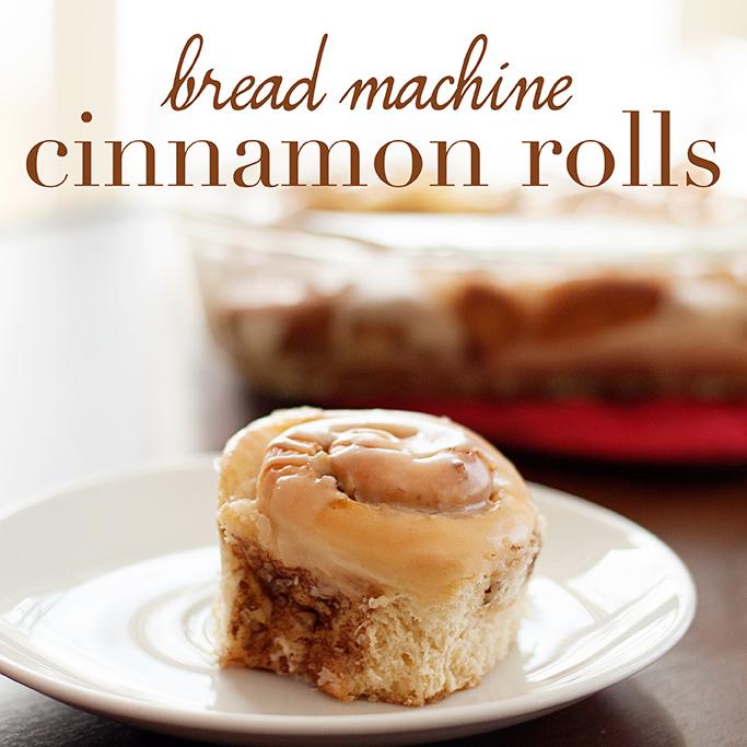 overnight cinnamon rolls bread machine