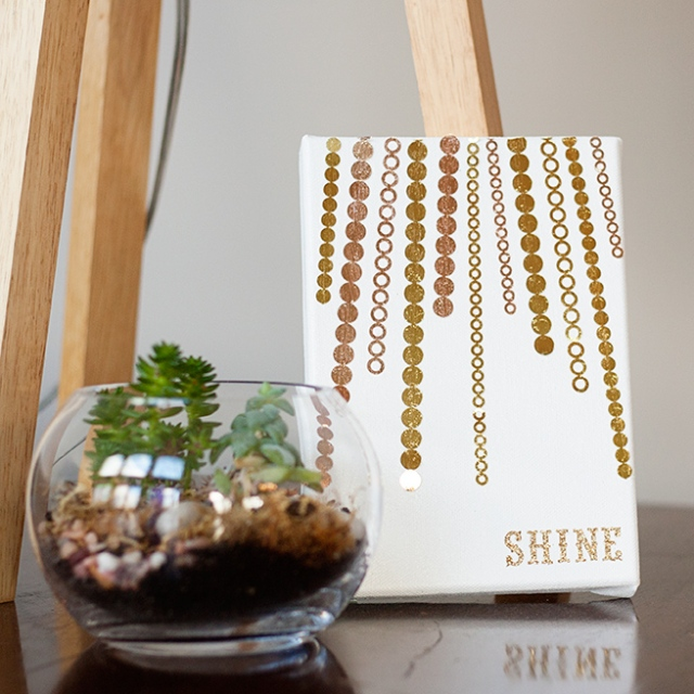 diy-shine-canvas-art