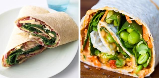 hummus-wrap-&-proscuitto-wrap