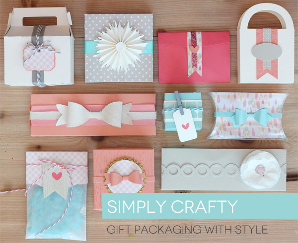 paper embelished gift wrap