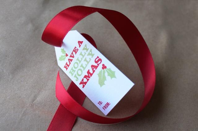 printable gift tag